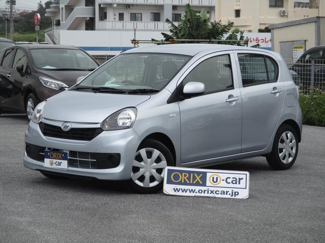 沖縄の中古車 ダイハツ ミライース 車両価格 72.3万円 リ済別 平成28年 2.1万km シルバーメタリック