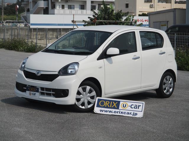 沖縄の中古車 ダイハツ ミライース 車両価格 74.1万円 リ済別 平成28年 1.7万km ホワイト