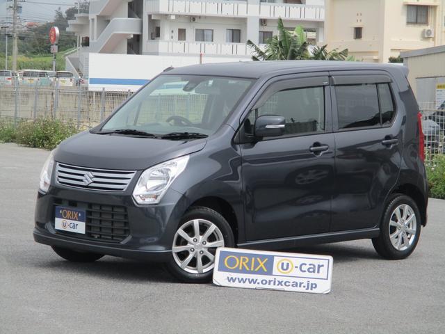 沖縄の中古車 スズキ ワゴンR 車両価格 84.5万円 リ済別 平成26年 1.0万km ルナグレーパールメタリック