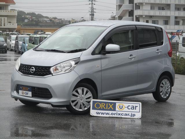 沖縄の中古車 日産 デイズ 車両価格 51.5万円 リ済別 2014(平成26)年 7.0万km クールシルバーM
