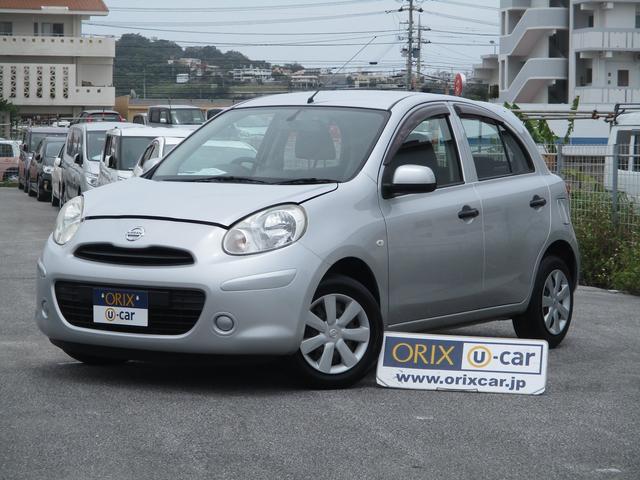 沖縄の中古車 日産 マーチ 車両価格 48.2万円 リ済別 2012(平成24)年 4.4万km ブリリアントシルバーM