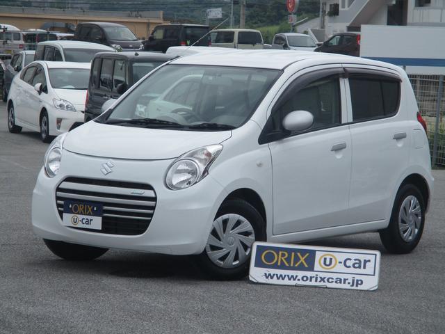 沖縄の中古車 スズキ アルトエコ 車両価格 59.2万円 リ済別 2014(平成26)年 1.2万km スペリアホワイト