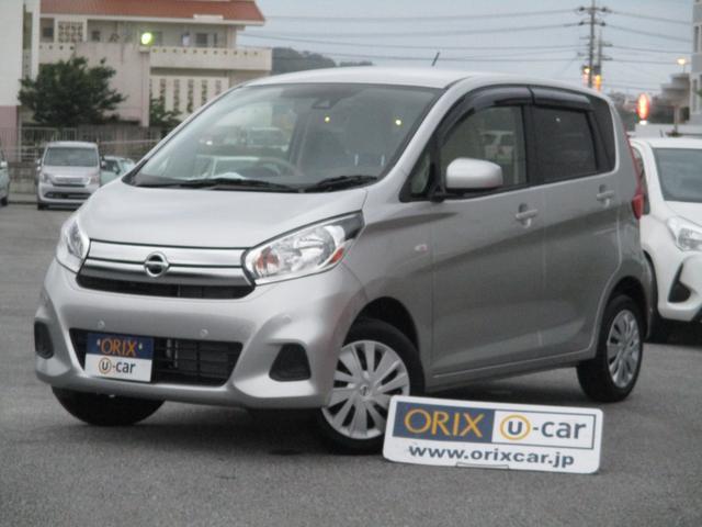 沖縄の中古車 日産 デイズ 車両価格 78.4万円 リ済別 2018(平成30)年 0.5万km スターリングシルバーM