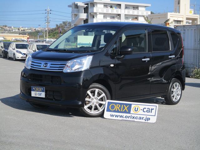 沖縄の中古車 ダイハツ ムーヴ 車両価格 81.7万円 リ済別 2018(平成30)年 3.4万km ブラックM