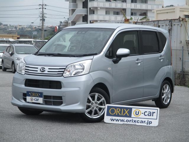 沖縄の中古車 ダイハツ ムーヴ 車両価格 79.9万円 リ済別 2018(平成30)年 3.3万km シルバーM