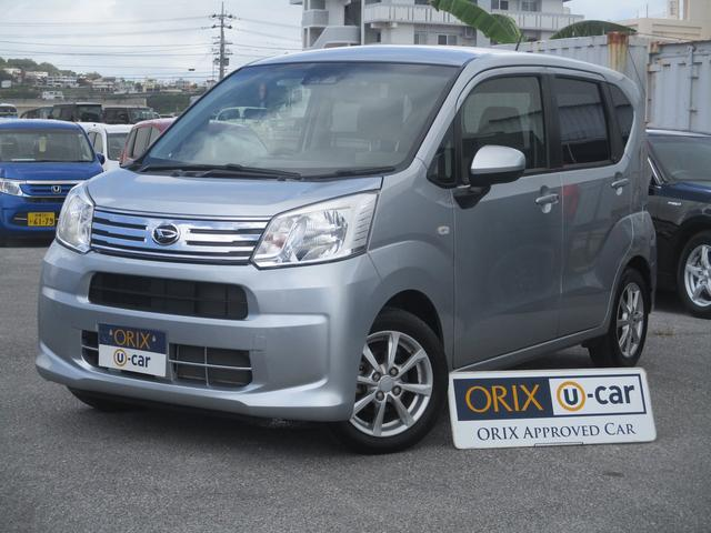 沖縄の中古車 ダイハツ ムーヴ 車両価格 82.9万円 リ済別 2018(平成30)年 3.1万km シルバーM