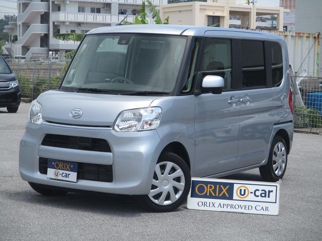 沖縄の中古車 ダイハツ タント 車両価格 89.9万円 リ済別 2016(平成28)年 5.3万km シルバー