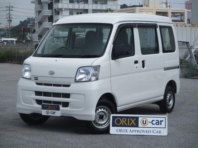 沖縄の中古車 ダイハツ ハイゼットカーゴ 車両価格 70.9万円 リ済別 2015(平成27)年 2.0万km ホワイト
