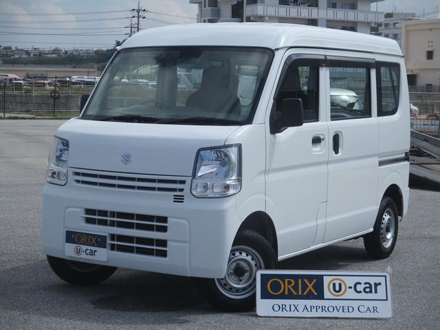 沖縄の中古車 スズキ エブリイ 車両価格 57.9万円 リ済別 2015(平成27)年 5.3万km ホワイト