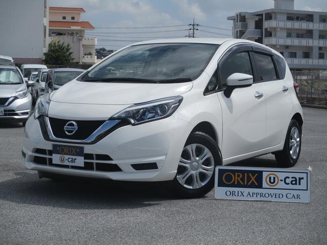 沖縄の中古車 日産 ノート 車両価格 79.9万円 リ済別 2018(平成30)年 5.3万km ホワイト