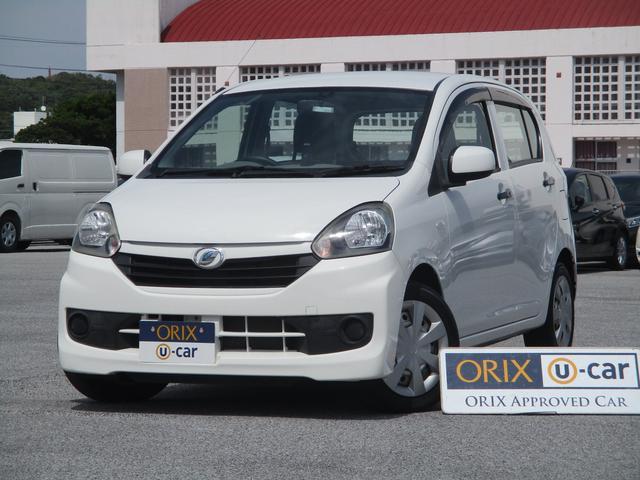 沖縄の中古車 ダイハツ ミライース 車両価格 37.9万円 リ済別 2014(平成26)年 5.8万km ホワイト