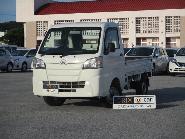 沖縄の中古車 ダイハツ ハイゼットトラック 車両価格 84.9万円 リ済別 2015(平成27)年 3.8万km ホワイト