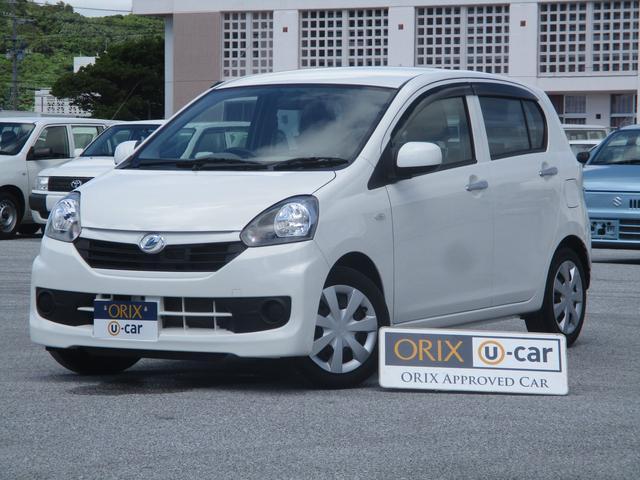 沖縄の中古車 ダイハツ ミライース 車両価格 65.9万円 リ済別 2017(平成29)年 2.8万km ホワイト