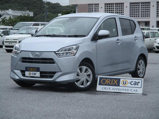 沖縄の中古車 ダイハツ ミライース 車両価格 74.9万円 リ済別 2018(平成30)年 4.1万km シルバーM