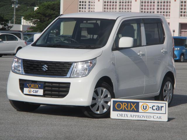 沖縄の中古車 スズキ ワゴンR 車両価格 67.9万円 リ済別 2016(平成28)年 1.5万km スペリアホワイト