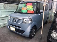 沖縄の中古車 ホンダ N BOX 車両価格 59万円 リ済込 平成24年 12.5万K ライトブルーM