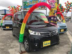 沖縄の中古車 日産 ルークス 車両価格 75万円 リ済込 平成23年 7.3万K ブラック
