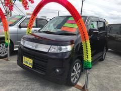 沖縄の中古車 スズキ ワゴンRスティングレー 車両価格 69万円 リ済込 平成23年 6.2万K パープル