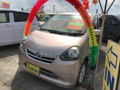 沖縄の中古車 ダイハツ ミライース 車両価格 52万円 リ済込 平成25年 6.6万K ピンク