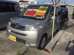 沖縄の中古車 ホンダ ライフ 車両価格 55万円 リ済込 平成23年 6.5万K シルバー
