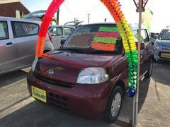 沖縄の中古車 ダイハツ エッセ 車両価格 39万円 リ済込 平成21年 6.6万K ワイン