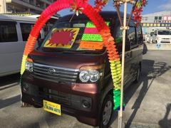 沖縄の中古車 ダイハツ アトレーワゴン 車両価格 69万円 リ済込 平成21年 7.0万K ダークパープル
