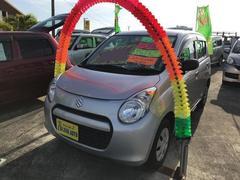 沖縄の中古車 スズキ アルト 車両価格 39万円 リ済込 平成23年 6.7万K シルバー