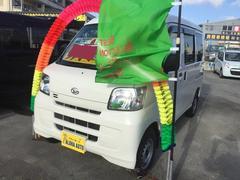 沖縄の中古車 ダイハツ ハイゼットカーゴ 車両価格 65万円 リ済込 平成25年 6.8万K ホワイト