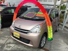 沖縄の中古車 ダイハツ ムーヴ 車両価格 59万円 リ済込 平成24年 7.3万K ピンク