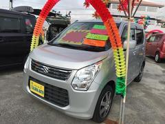 沖縄の中古車 スズキ ワゴンR 車両価格 67万円 リ済込 平成25年 5.5万K シルバー