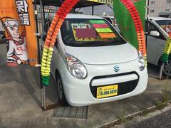 沖縄の中古車 スズキ アルトエコ 車両価格 49万円 リ済込 平成25年 5.7万K ホワイト