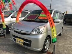 沖縄の中古車 スバル ステラ 車両価格 43万円 リ済込 平成22年 6.2万K シルバー