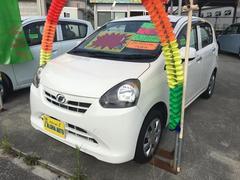 沖縄の中古車 ダイハツ ミライース 車両価格 45万円 リ済込 平成25年 5.6万K ホワイト