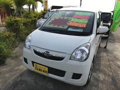 沖縄の中古車 ダイハツ ミラ 車両価格 47万円 リ済込 平成25年 5.2万K ホワイト