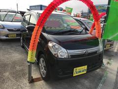 沖縄の中古車 ダイハツ ミラカスタム 車両価格 47万円 リ済込 平成21年 5.7万K ブラック