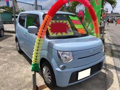 沖縄の中古車 スズキ MRワゴン 車両価格 69万円 リ済込 平成25年 6.6万K ライトブルー