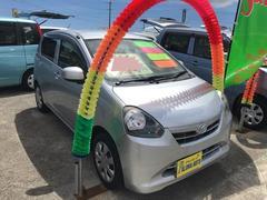 沖縄の中古車 ダイハツ ミライース 車両価格 45万円 リ済込 平成25年 7.9万K シルバー