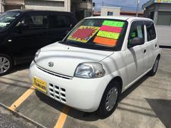 沖縄の中古車 ダイハツ エッセ 車両価格 35万円 リ済込 平成23年 6.1万K ホワイト
