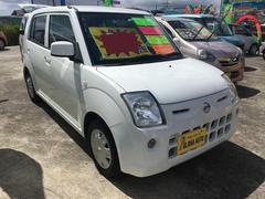 沖縄の中古車 日産 ピノ 車両価格 39万円 リ済込 平成23年 6.1万K ホワイト
