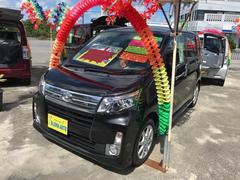 沖縄の中古車 ダイハツ ムーヴ 車両価格 72万円 リ済込 平成25年 7.7万K ブラック