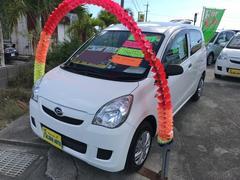 沖縄の中古車 ダイハツ ミラ 車両価格 42万円 リ済込 平成24年 6.9万K ホワイト