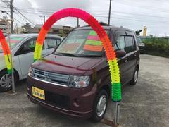 沖縄の中古車 三菱 トッポ 車両価格 49万円 リ済込 平成23年 4.5万K ワイン