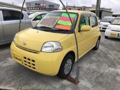 沖縄の中古車 ダイハツ エッセ 車両価格 35万円 リ済込 平成21年 7.2万K イエロー