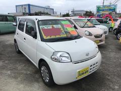 沖縄の中古車 ダイハツ エッセ 車両価格 39万円 リ済込 平成23年 6.8万K ホワイト