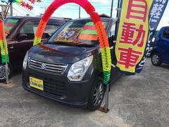 沖縄の中古車 スズキ ワゴンR 車両価格 69万円 リ済込 平成25年 6.8万K ルナグレーパールメタリック