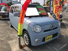 沖縄の中古車 ダイハツ ミラココア 車両価格 75万円 リ済込 平成23年 4.4万K ミストブルーマイカメタリック