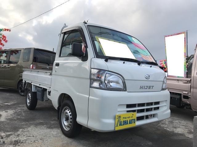 沖縄の中古車 ダイハツ ハイゼットトラック 車両価格 59万円 リ済込 平成26年 3.7万km ホワイト