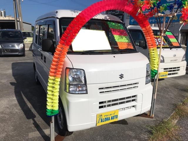 沖縄の中古車 スズキ エブリイ 車両価格 67万円 リ済込 平成26年 5.6万km スペリアホワイト