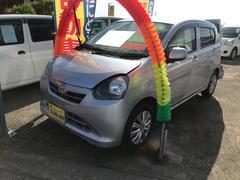 沖縄の中古車 ダイハツ ミライース 車両価格 47万円 リ済込 平成25年 7.0万K ブライトシルバーメタリック