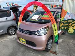 沖縄の中古車 三菱 eKワゴン 車両価格 65万円 リ済込 平成25年 6.3万K サクラピンクメタリック
